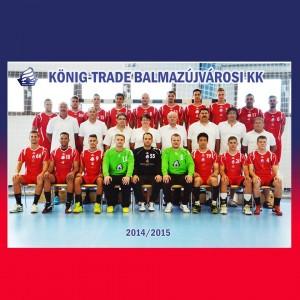 Kőnig-Trade Balmazújvárosi KK 2014-2015